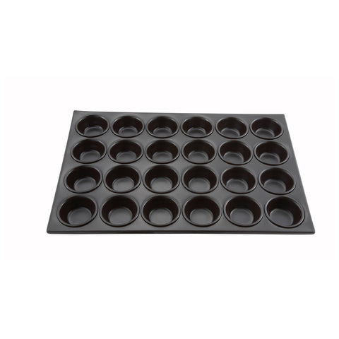24 Cup Muffin Pan, Non-stick, 3 oz., Aluminum