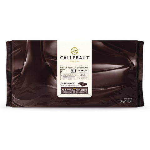 Dark Chocolate Couverture Blocks - 54.5% Cacao