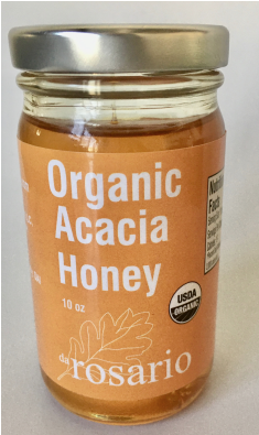 100% Organic Raw Acacia Honey