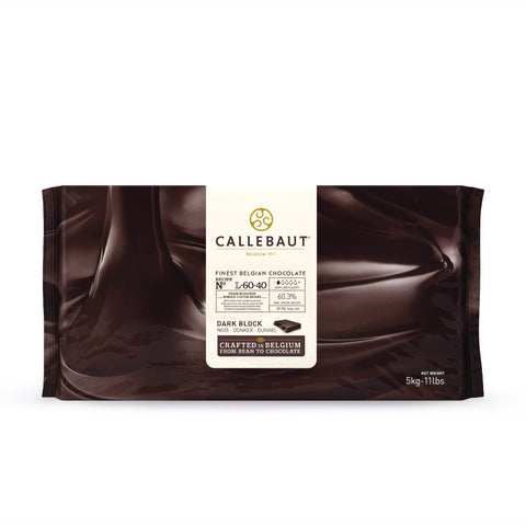 Dark Chocolate Couverture Block - 60.3% Cacao