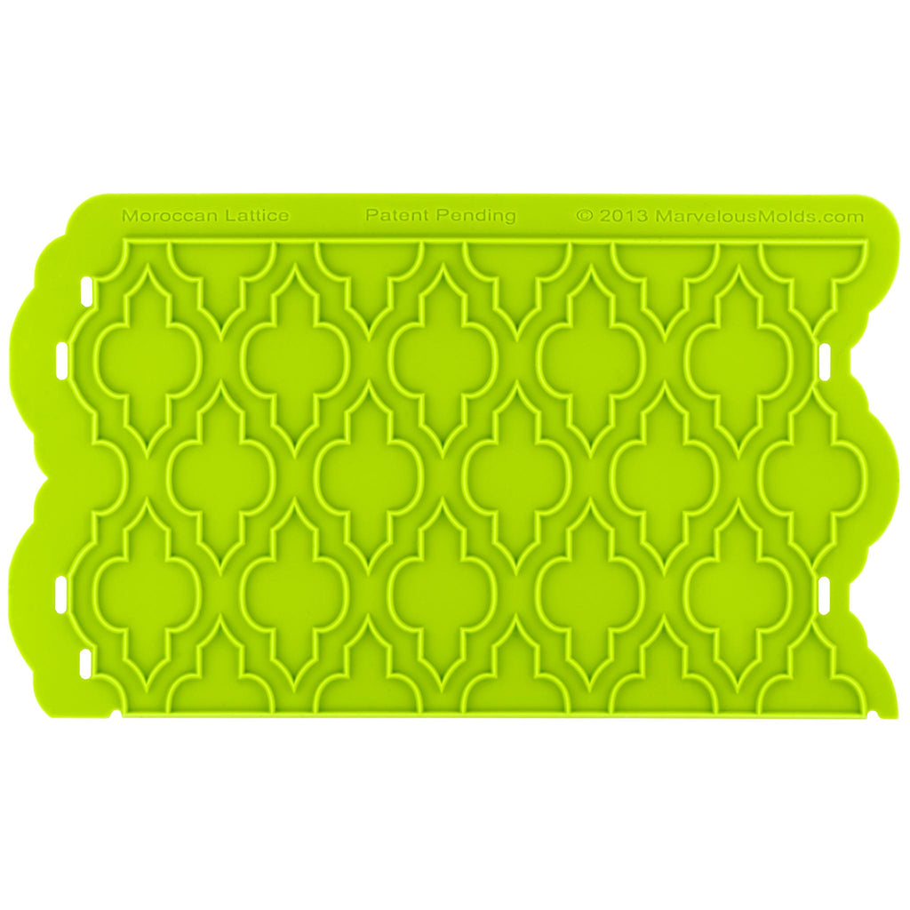 Moroccan Lattice Silicone Onlay®