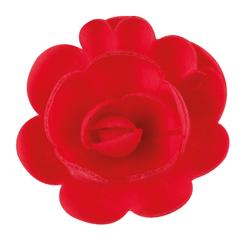 Red Large Edible Wafer Roses