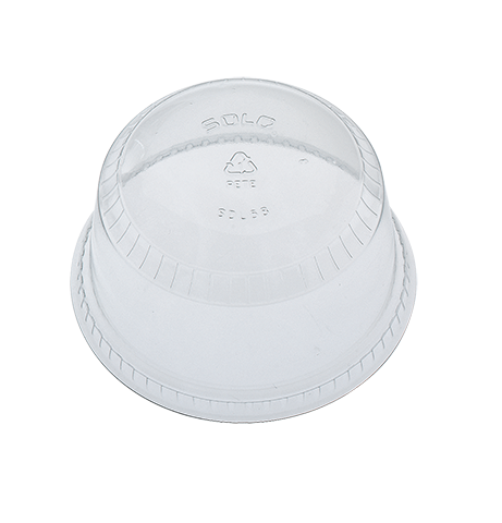 Dome Lid For 10-20 oz cups 16HG - White - 1000 Qty