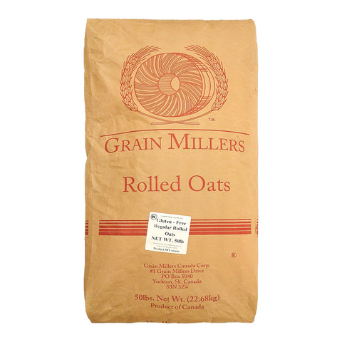 Gluten Free Rolled Oats by Grain Millers