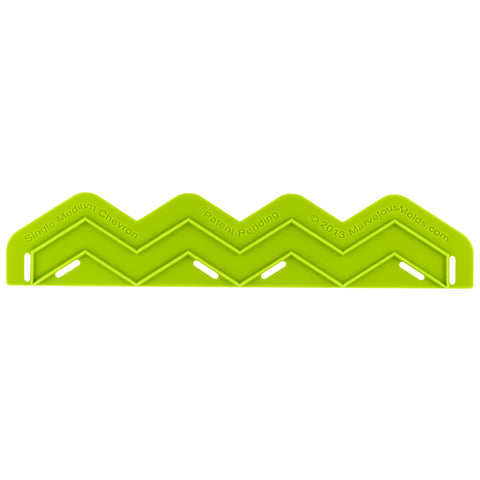 Single Medium Chevron Silicone Onlay