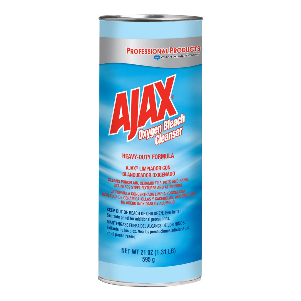 Case of 24 Ajax Powder Cleanser W/Bleach 21oz Cans