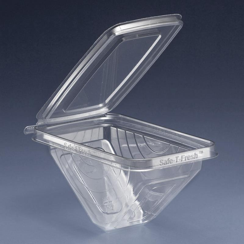 Sandwich Wedge Tear Strip Safety Seal Container