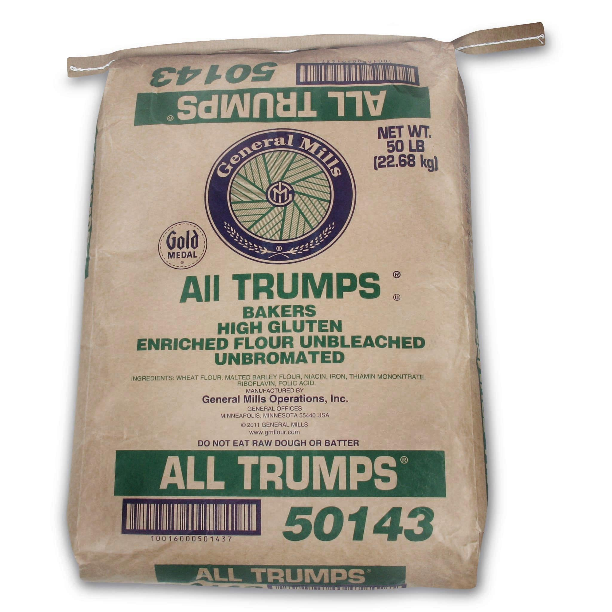 All Trumps Flour - High Gluten Unbleached & Unbromated by General Mills