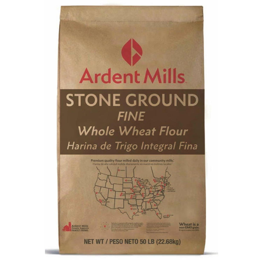 Stone Ground Fine Whole Wheat Flour
