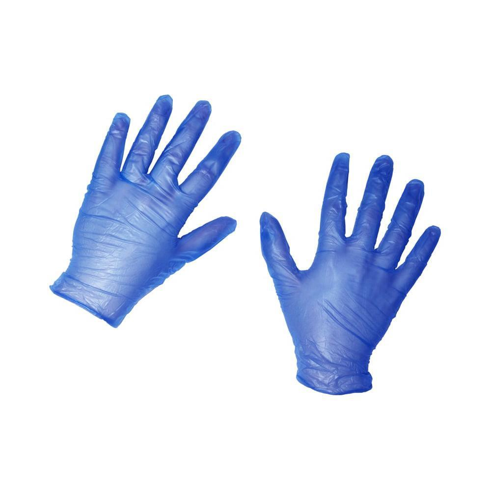 Nitrile Blue Gloves - Medium - Case of 10 Boxes (1000 Gloves)
