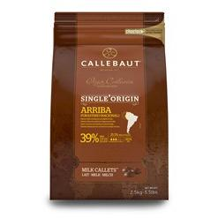 Arriba Origin Milk Chocolate Couverture Callets - 39% Cacao