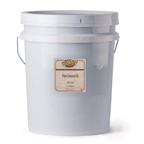 Pure Coconut Oil 5 gallon pail
