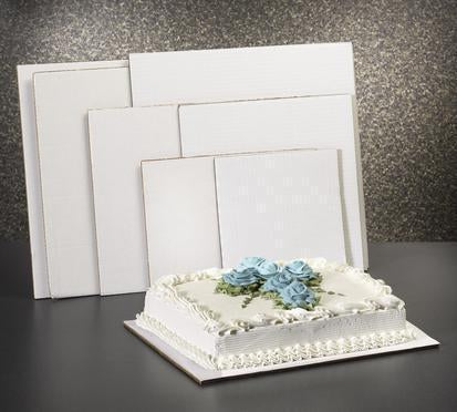 "Square Cake Board - 12"" x 12"" - 100 Qty"