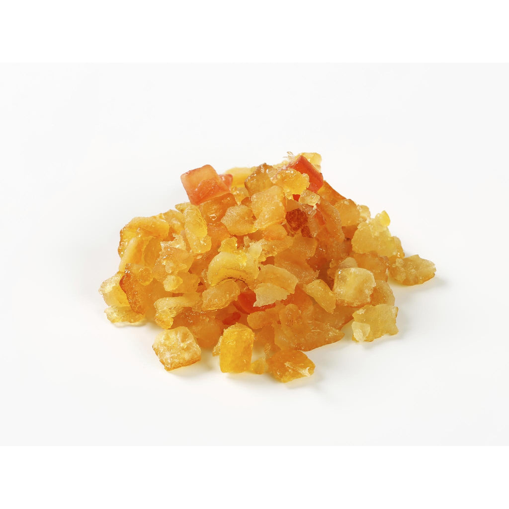 Candied Orange Peel (Diced 1/4 inch)