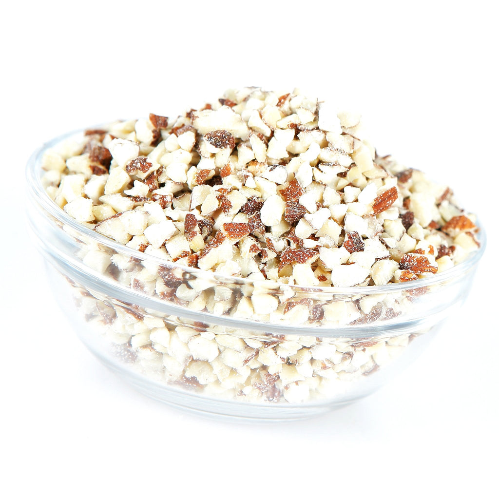 Granulated Almonds - Natural With Skin