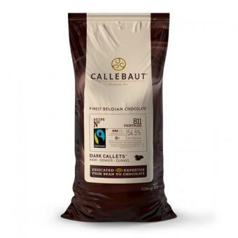 Fairtrade Dark Chocolate Couverture Callets - 54.5% Cacao (SPECIAL ORDER 2 WEEKS)