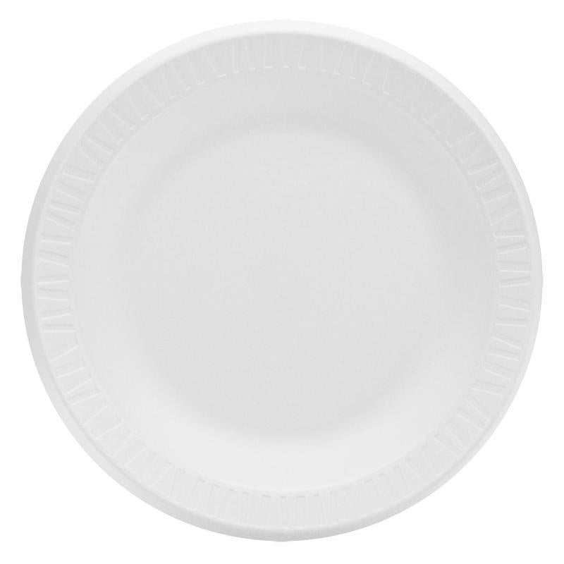 White Paper Plate - 9 inch - 1000 Qty
