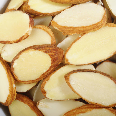 Sliced Almonds (Natural With Skin)