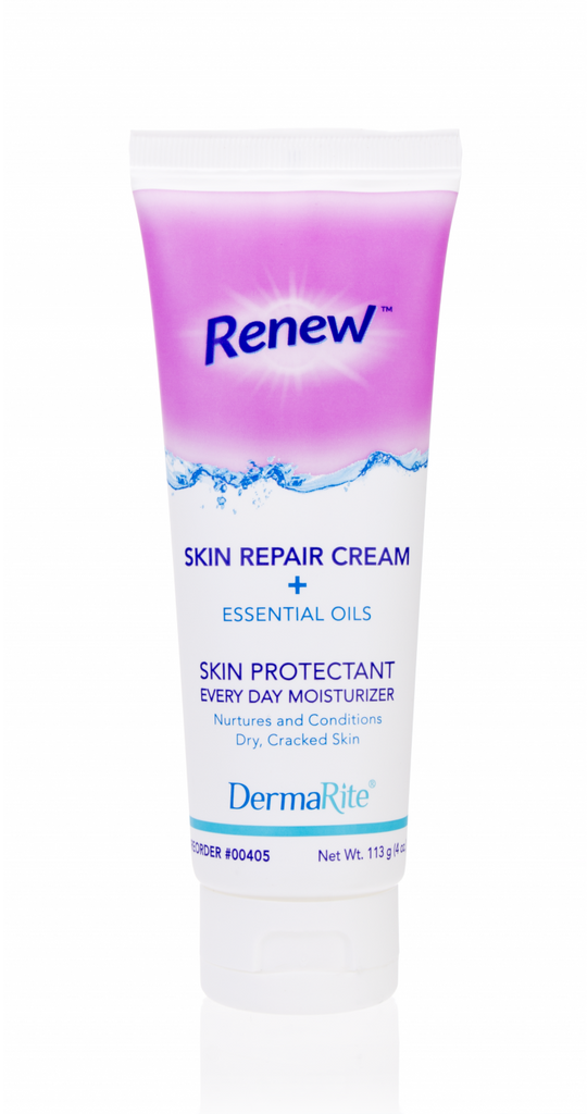 Lotion Skin Repair Cream, Renew w/ 1.5% Dimethicone Essential Oils and Aloe by Dermarite