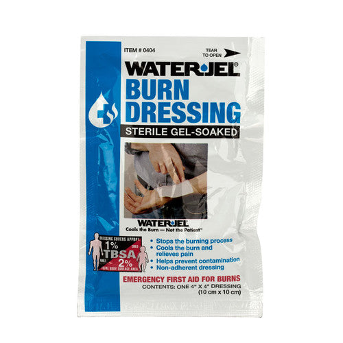 Dressing Burn WaterJel Lidocaine Pads Sterile