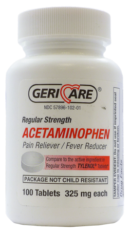 Acetaminophen Compare to Tylenol by Gericare
