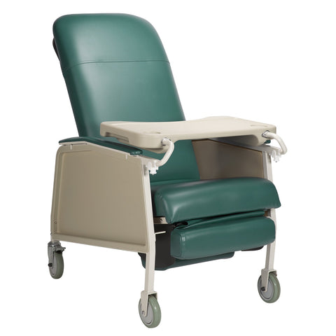 Geri Chair Jade 3 Position 250Lb Capacity w/Locking Tray by Dynarex