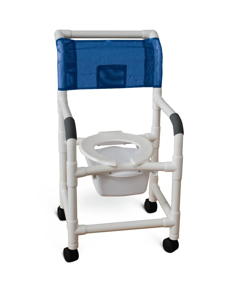 Chair Shower Commode Rolling by MJM