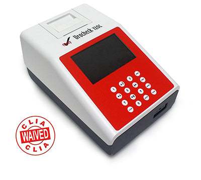 Analyzer Urine Urocheck 120C Auto Calibration & Self Check CLIA Waived by Clarity