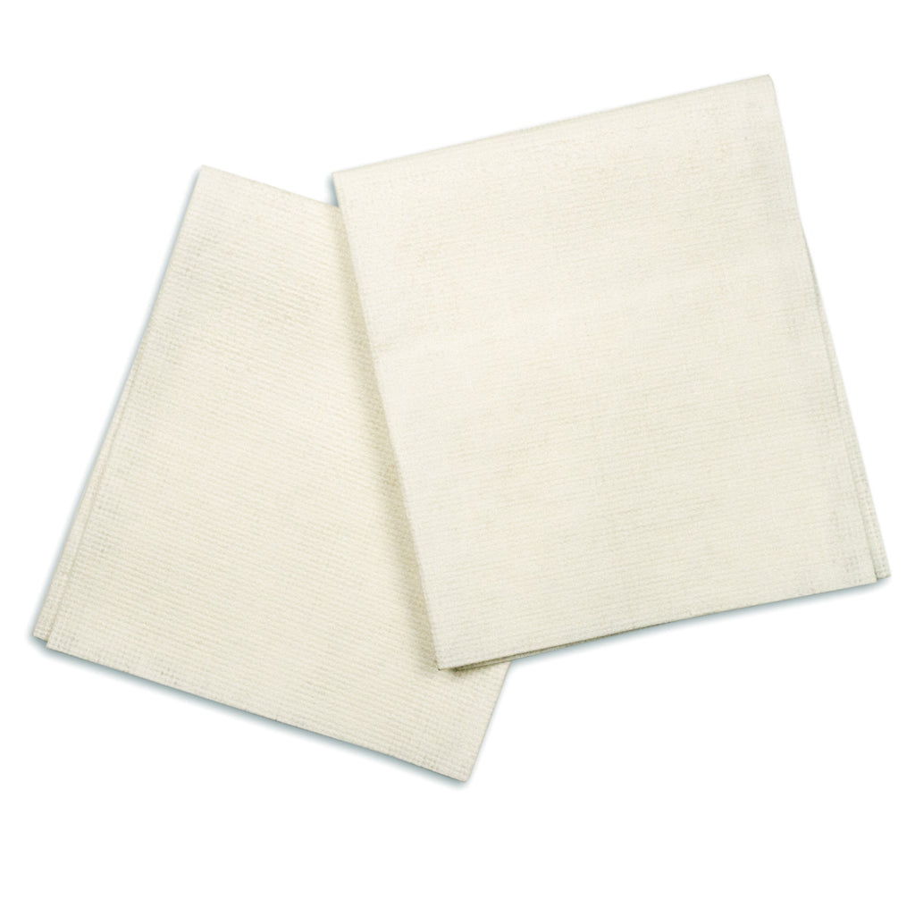 Washcloth Dry Air Laid Cellulose 12x13 by AMD RITMED