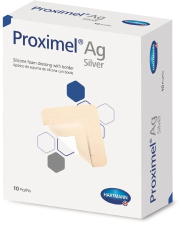 Silicone Dressing Foam Adhesive AG Sterile Proximel® by Hartmann Compare Optifoam AG Gentle™