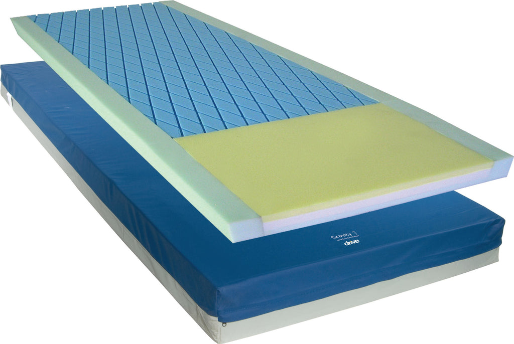 "Mattress Pressure Redistribution Gravity 7 6"" Cut Out & 3"" Perimeter by Drive"