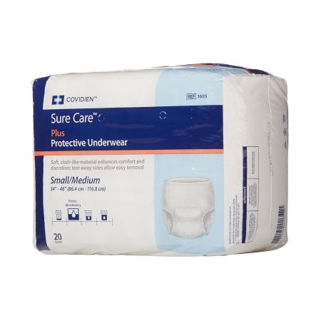 Underwear Pull up Heavy Absorbency Sure Care™ Plus by Kendall