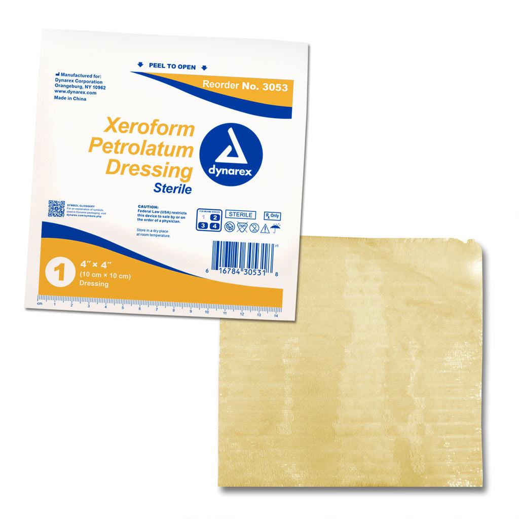 Xeroform Dressings Non-Adhering Sterile Generic by Dynarex