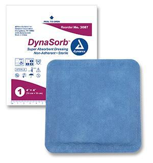 Dressing Super Absorbent DynaSorb Sterile by Dynarex Compare Optilock