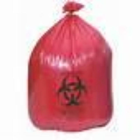 Bags Biohazard Red by Medical Action