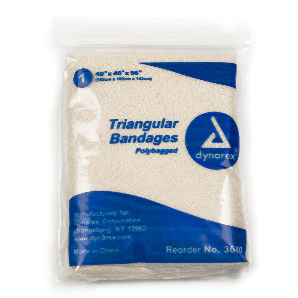 Sling Arm Triangular Bandages by Dynarex