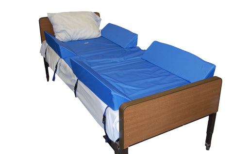 Bed Positioning 30° Full Body Support System w/4 Attached Bolsters by Skilcare