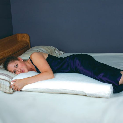Pillow SnuggleFoam Memory Foam Removable Cover by Sammons