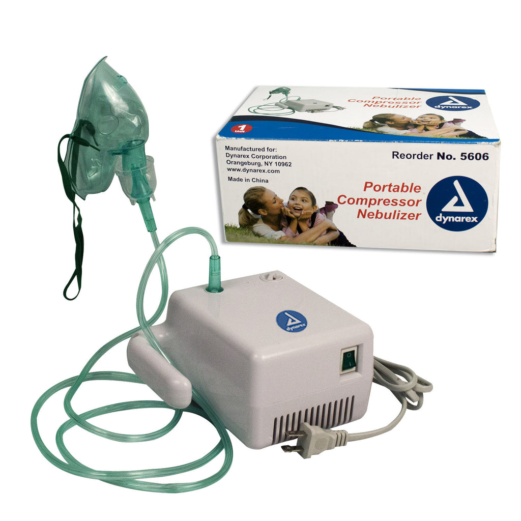 Nebulizer Compressor Machine for Aerosol Therapy by Dynarex