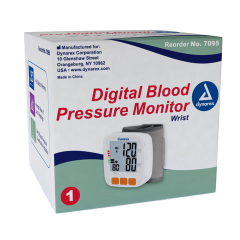 Blood Pressure Monitor Arm Automatic Inflation Digital by Dynarex