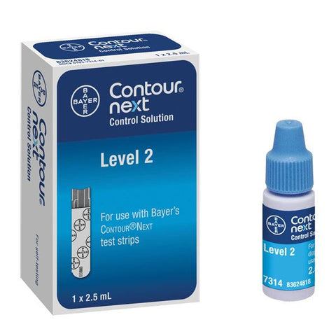 Diabetic Control Solution Contour Blood Glucose System by Bayer