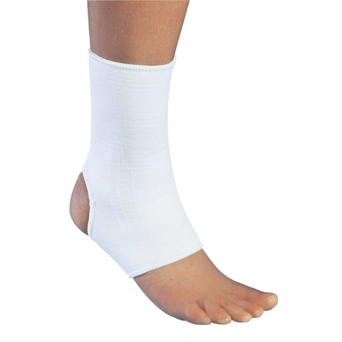 Brace Ankle Support Elastic Pull On White PROCARE® by DJO