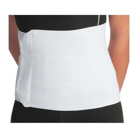 "Abdominal Binder 12"" Universal & Bariatric Sizes Premium 4 Panel Elastic Binder by DJO"