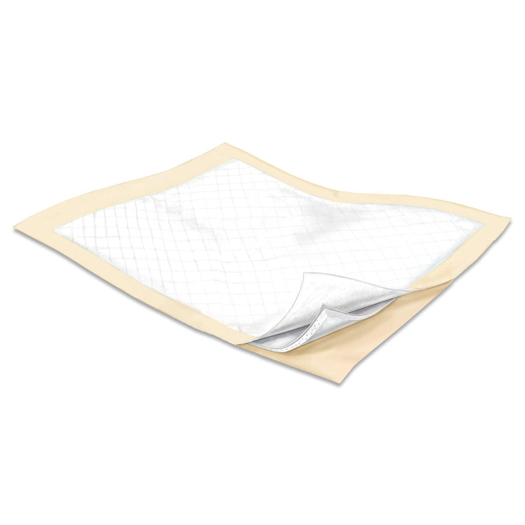 Underpad Wings™ Plus Bulk  Fluff/Polymer X-Heavy Absorbency by Kendall