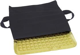 Cushions Wheelchair T-Gel Checkerboard by Black Alimed