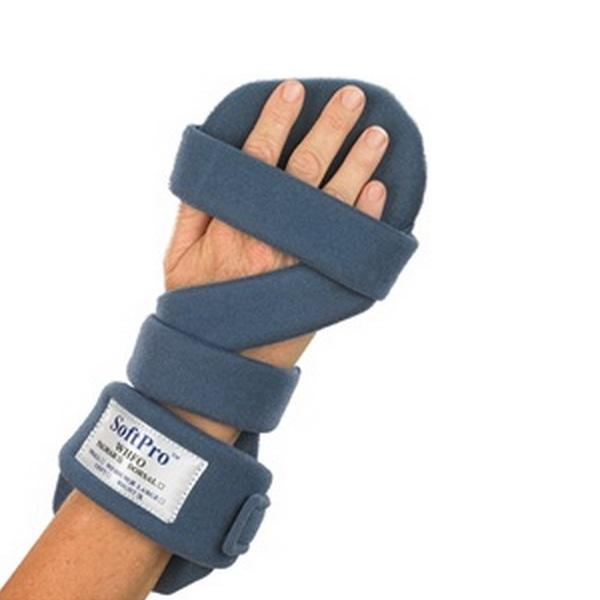 Splint Hand Palmar Resting SoftPro w/Extra Antibacterial Cover by Alimed
