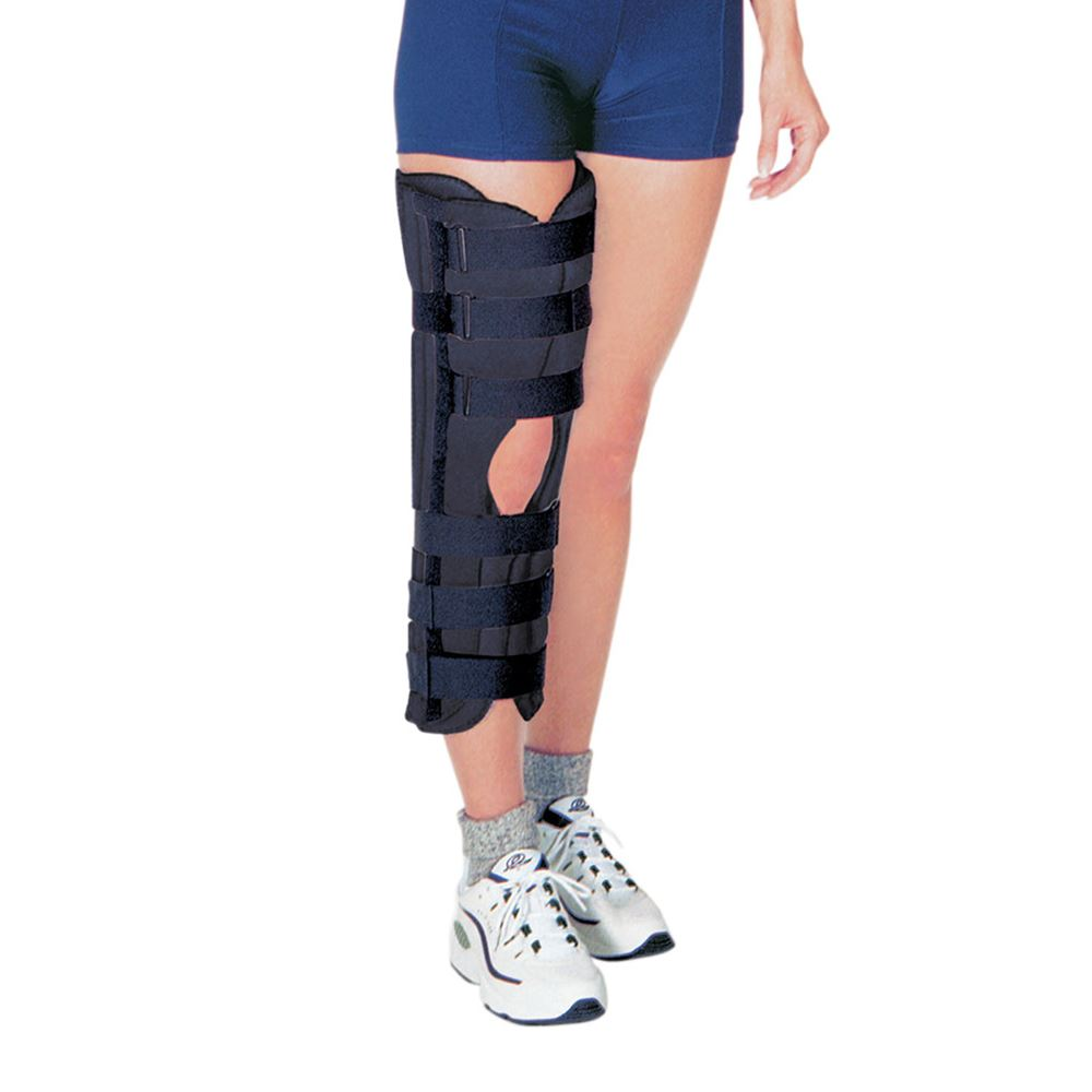 Knee Immobilizer Tri Panel w/Posterior & Lateral Stays RCAI® by Alimed