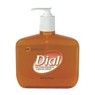 Soap Liquid Antibacterial Hand 16oz by Dial Corporation