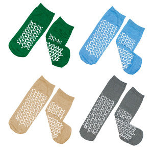 Socks Double Sided Soft Sole Non Skid by Dynarex