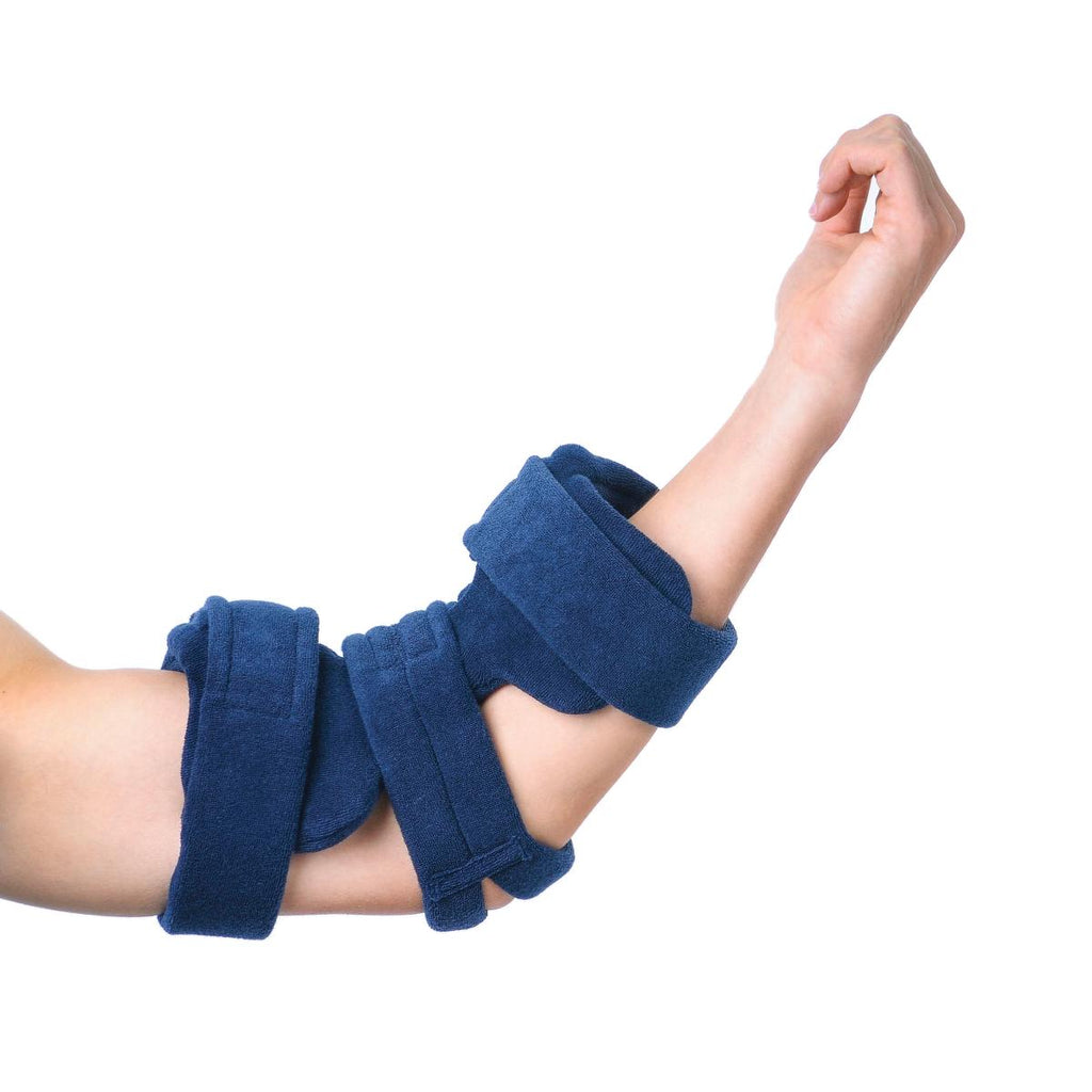 Splint Elbow Orthosis Comfy Splint Terry Cover Navy by Comfy Splints
